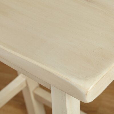 Wooden 30 Bar Stool Color: Buttermilk