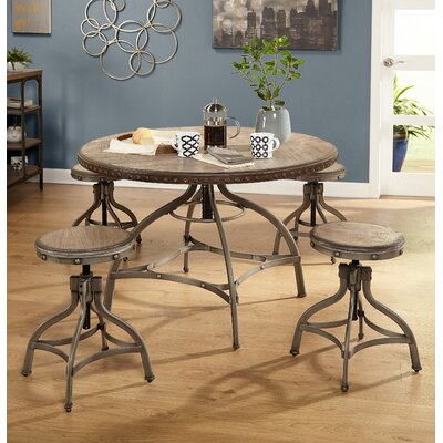 Adalgar 5 Piece Extendable Dining Set