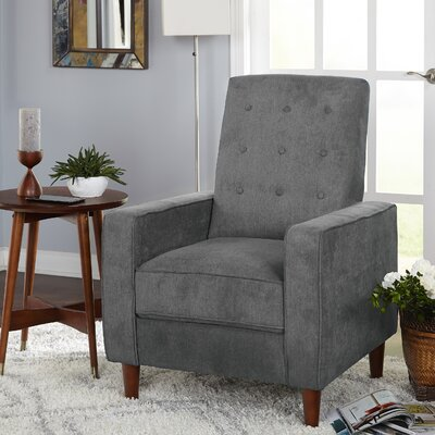 Arkin Manual No Motion Recliner Color: Dark Gray