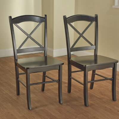 No credit check financing Tiffany Side Chair (Set of 2) Finis...