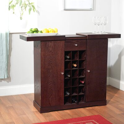 Rent 24 Bottle Wine Cabinet Finish: Espr...