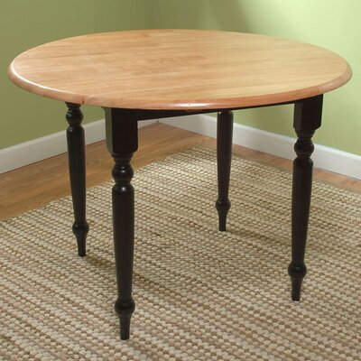 TMS Dining Table - Finish: Black and Natural at Sears.com