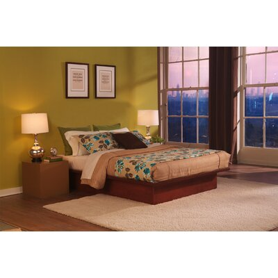 TrekBeds Pure Platform Bed Upholstery: Warm Mahogany, Size: Queen