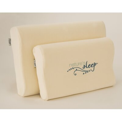 Visco Contour Memory Foam Pillow Size: Small