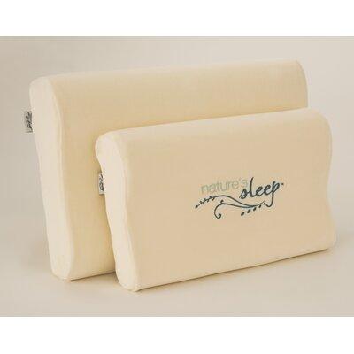 Visco Contour Memory Foam Pillow Size: Large