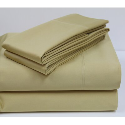 800 Thread Count Sheet Set Color: Antique Gold