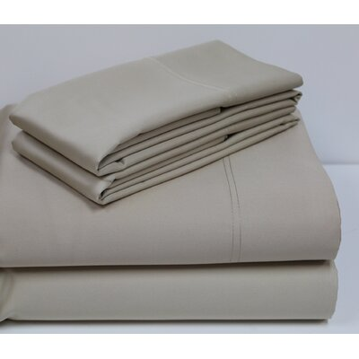 800 Thread Count Sheet Set Color: Khaki