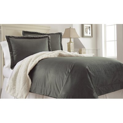 Klas Comforter Set Size: Twin, Color: Khaki