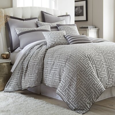 Mandalay Bay 3 Piece Duvet Cover Set Size: Queen
