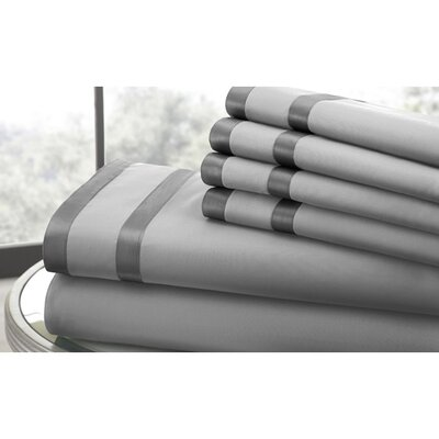 6 Piece Sheet Set Size: King