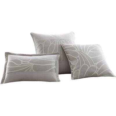 Mandalay Bay 3 Piece Kate Jacquard Decorative Cotton Breakfast and Throw Pillow Set
