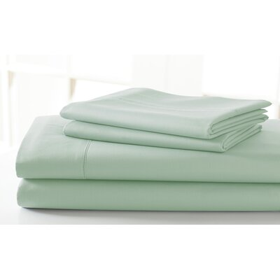 600 Thread Count Sheet Set Size: King, Color: Soft Jade