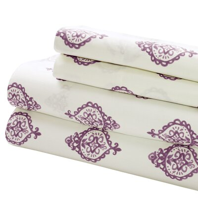 200 Thread Count Superior Combed Cotton Sheet Set Size: King