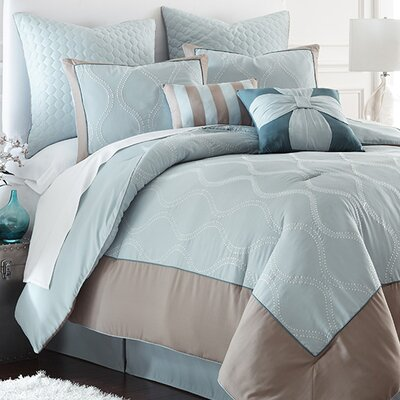 Sagebrush 8 Piece Comforter Set Size: King