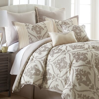 Thibault 8 Piece Comforter Set Size: King