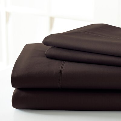 600 Thread Count Sheet Set Size: Full, Color: Mocha