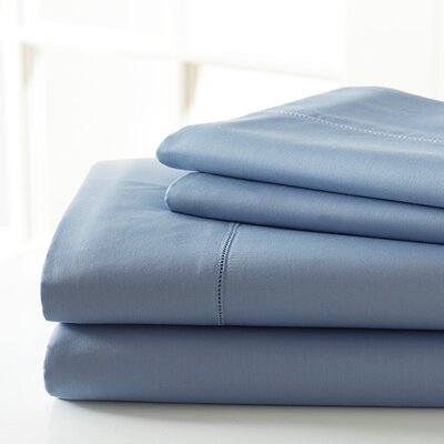 600 Thread Count Sheet Set Size: King, Color: Ice