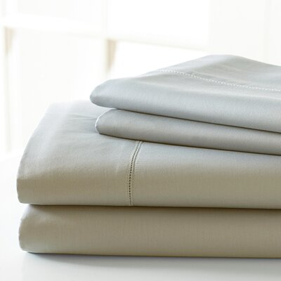 600 Thread Count Sheet Set Size: California King, Color: Linen