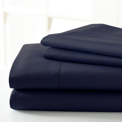 600 Thread Count Sheet Set Size: King, Color: Indigo
