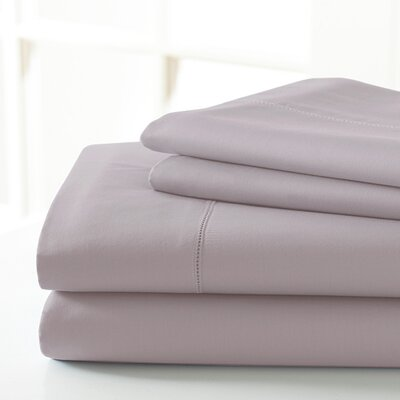 600 Thread Count Sheet Set Size: King, Color: Lilac