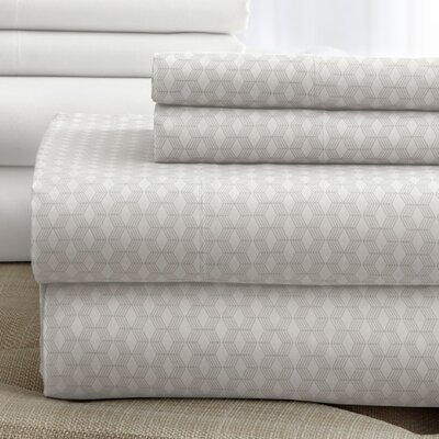 Solid Sheet Set Color: Ivory, Size: King