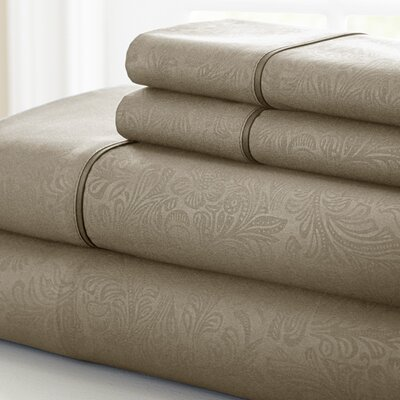 3 Piece Sheet Set Color: Taupe