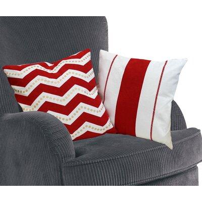 Eclectic 2 Piece Cotton Throw Pillow