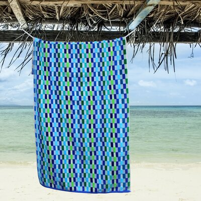 Mosaic Oversized Beach Towel