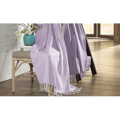 Carol Throw Color: Lavender Ash