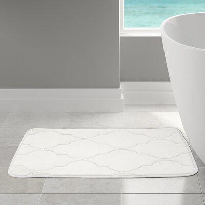 Edwin Bath Rug Size: 21 W x 34 L, Color: White