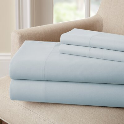 Lasalle 300 Thread Count Sheet Set Size: Twin, Color: Blue