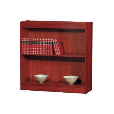 Contemporary Series Standard Bookcase Finish California Medium Oak Size 72 H x 36 W x 12 D