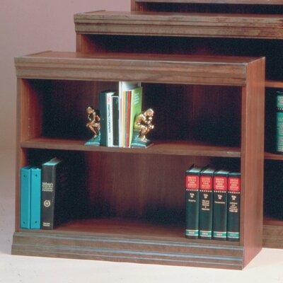 "NORSONS INDUSTRIES LLC Jefferson Traditional Series Bookcase - Size: 30"" H x 36"" W x 12"" D, Finish: Medium Cherry ..."