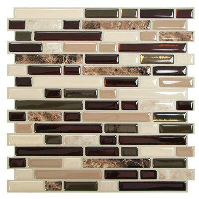 Mosaik Bellagio Keystone  Wall Tile in Beige & Brown