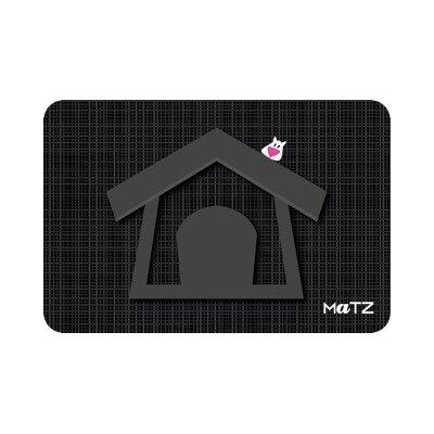 Matz Lucky Dog House 12 x 18 Peel and Stick Doormat