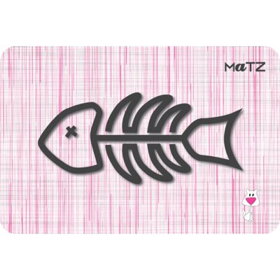 Matz Milo Fish 12 x 18 Peel and Stick Doormat