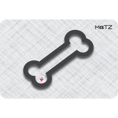 Matz Zeus Bone 12 x 18 Peel and Stick Doormat