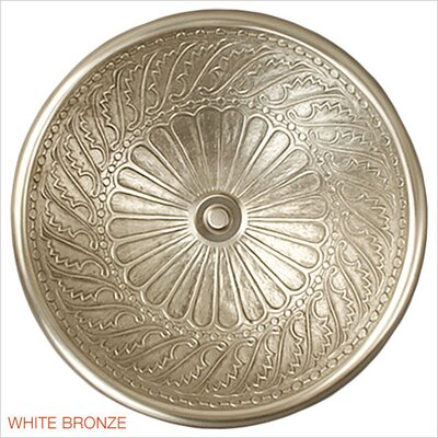Wing Metal Circular Drop-In Bathroom Sink Finish: White Bronze