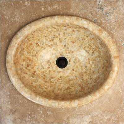 Onyx Oval Vessel Bathroom Sink