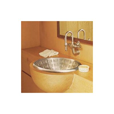 Pantheon Circular Vessel Bathroom Sink Finish: White Bronze
