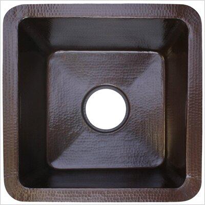 16 x 16 Small Square Bar Sink Finish: Dark Bronze
