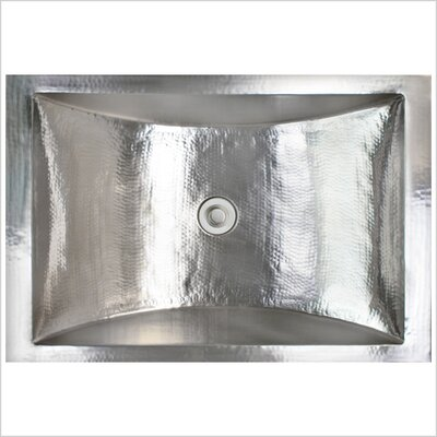 Crescent Self Rimming Bathroom Sink Finish: Satin Nickel