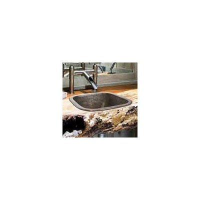 Botanical Square Vessel Bathroom Sink Finish: Antique Bronze