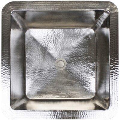 16 x 16 Small Square Bar Sink Finish: Satin Nickel