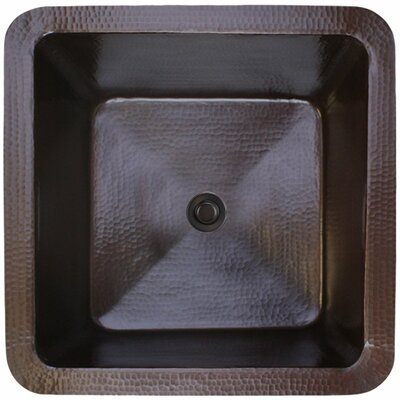16 x 16 Small Square Bar Sink Finish: Dark Bronze