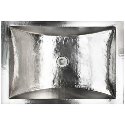 Crescent Self Rimming Bathroom Sink Finish: Stainless Steel