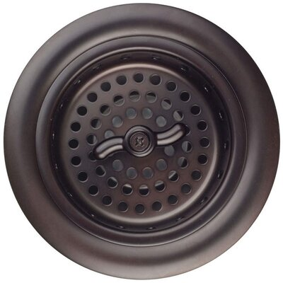Basket Strainer Finish: Dark Bronze