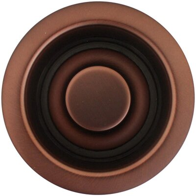 Disposal Flange Finish: Dark Bronze