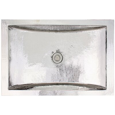 Crescent Self Rimming Bathroom Sink Finish: Polished Nickel