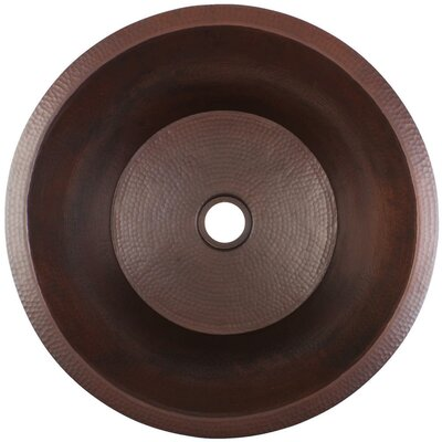 19 x 19 Large Flat Bar Sink Finish: Dark Bronze